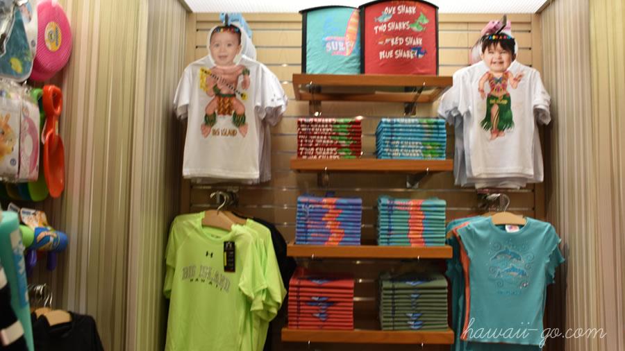 Tシャツ売り場