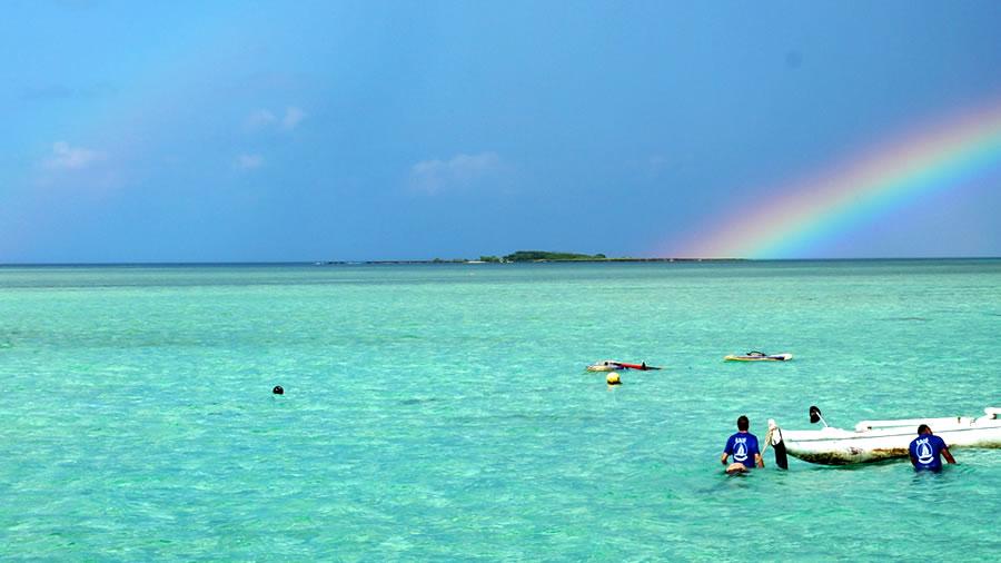 カイルアの虹
