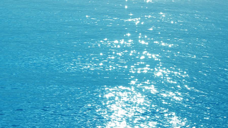 水面の輝き